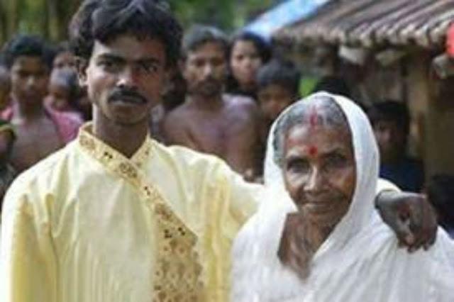 شاب هندى يتزوج من جدته والسبب اغرب من الخيال لا يصدق #شاهد