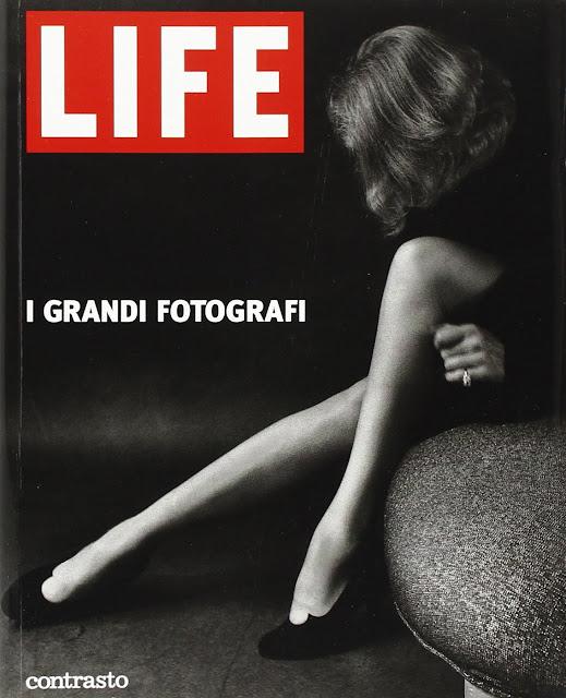 Copertina del libro LIFE, i grandi fotografi