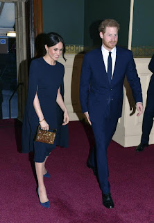 Soon to be married couple Meghan Markle and Prince Harry to celebrate Queen Elizabeth