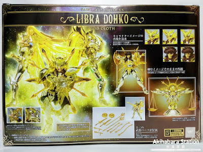 Saint Cloth Myth EX Libra Dohko God Cloth - Tamashii Nations