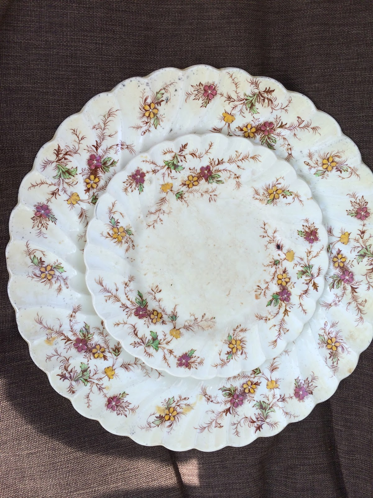 Cleaning out cupboards at our cabin at Oak Lake Beach I came across these dishes and knew they were handed down from family and was curious about their ... & 52 Ancestors - 52 Weeks: History of the Dishes