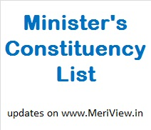 Ministers and their constituency