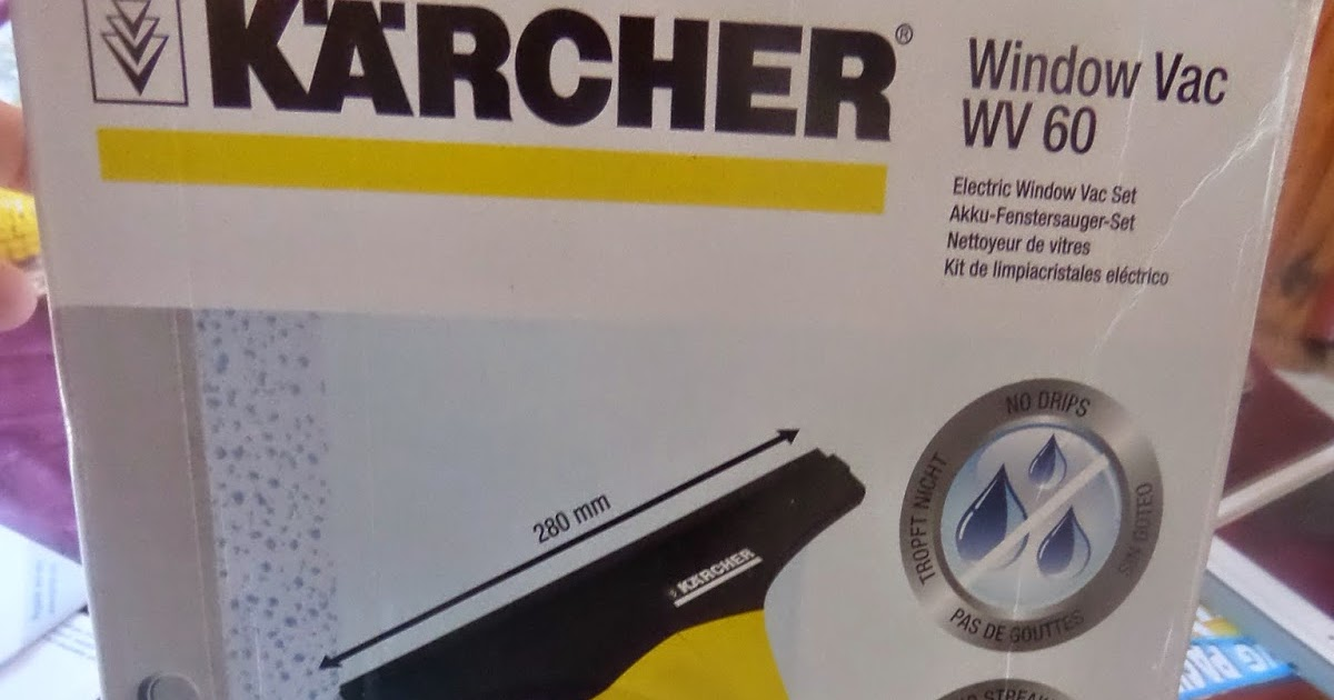 charge lave vitre karcher wv 50