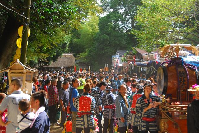 Ishioka Festival at Hitachinoguu Soutaisha Shrine, Ishioka City, Ibaraki Pref.