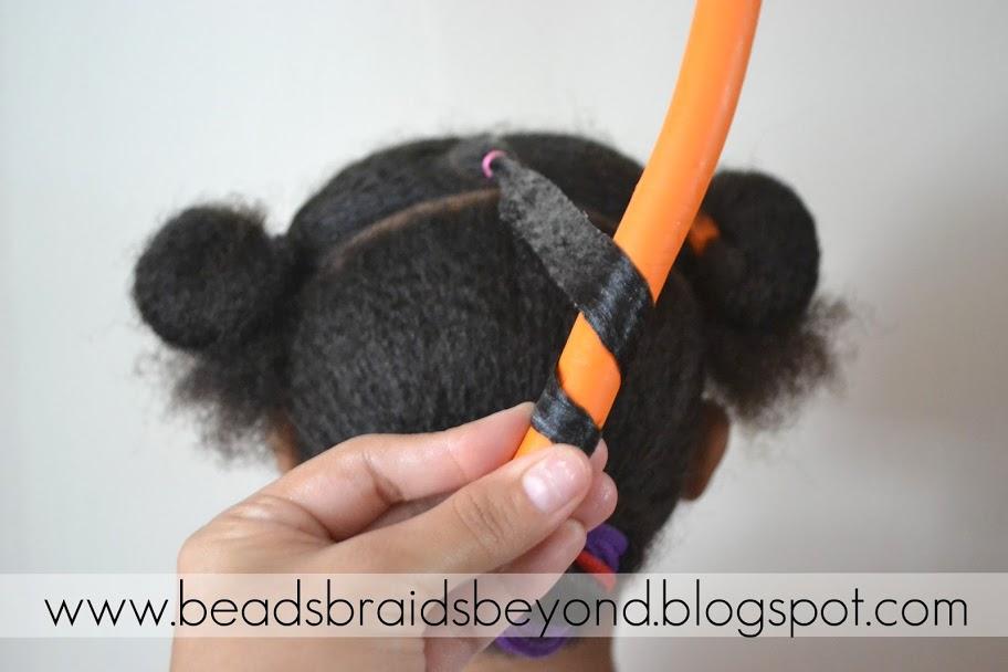 Awe Inspiring Beads Braids And Beyond Little Girls Natural Hairstyle Flexi Short Hairstyles Gunalazisus
