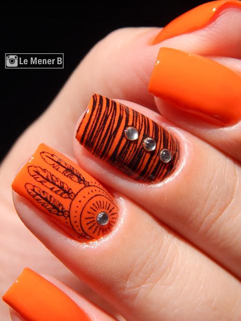 esmate-laranja-neon