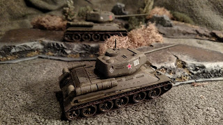 Terrain and T34 Tanks