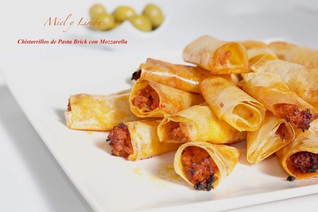 Chistorrillos De Pasta Brick Con Mozzarella