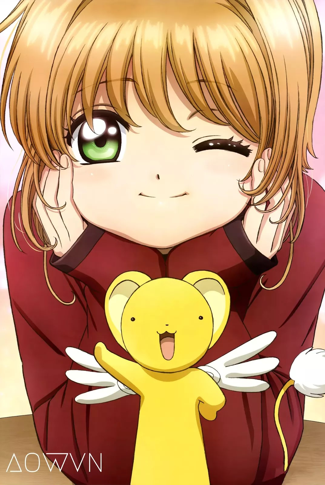Sakura AowVN%2B%25281%2529 - [ Anime 3gp Mp4 | Ep 22 ] Cardcaptor Sakura: Clear Card-hen | Vietsub - Tuổi Thơ Trở Về