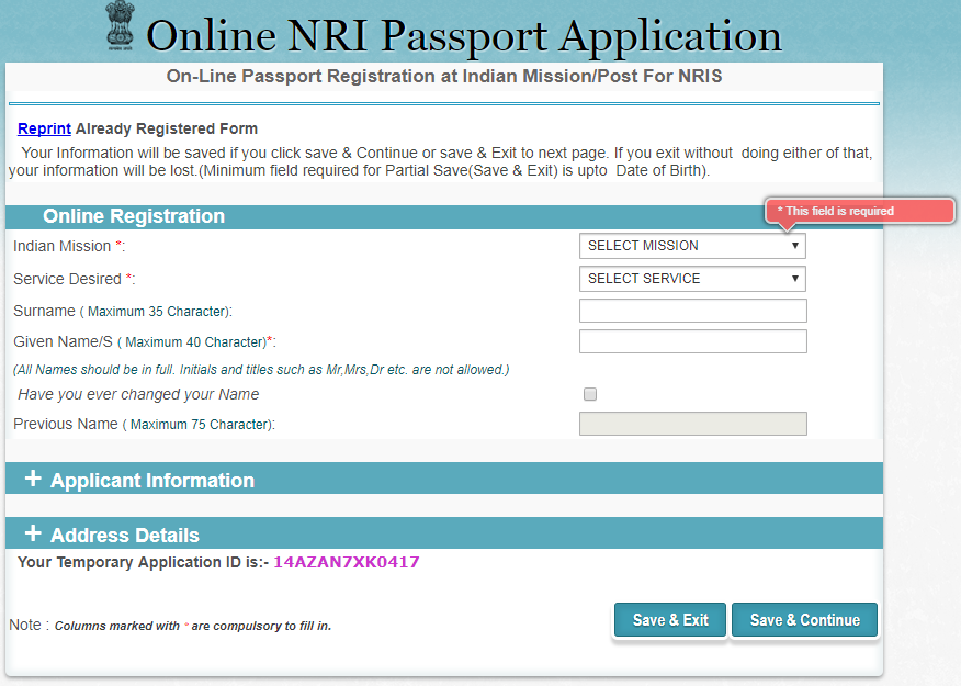 How To Apply Online For An Indian Passport In Qatar Customer Care
