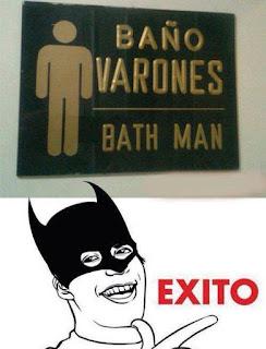 imagen de humor - baño par ahombres