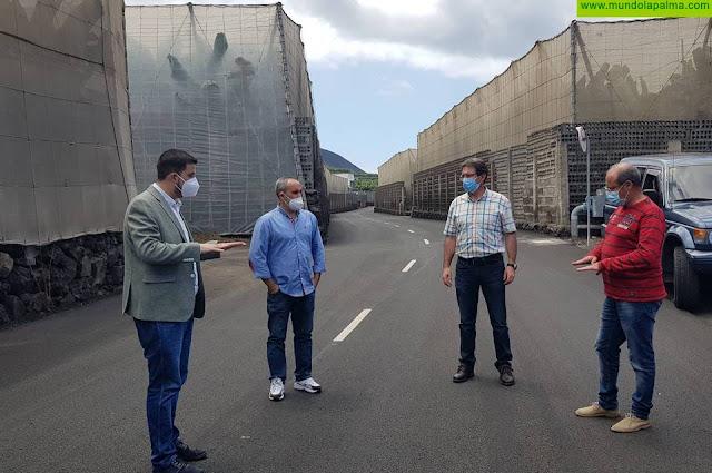 El Cabildo concluye la mejora de la carretera de la costa de Fuencaliente entre el Faro y Punta Banco