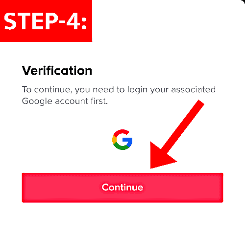 Verify Your TikTok Account with OTP