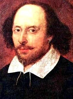 Retrato de William Shakespeare a color