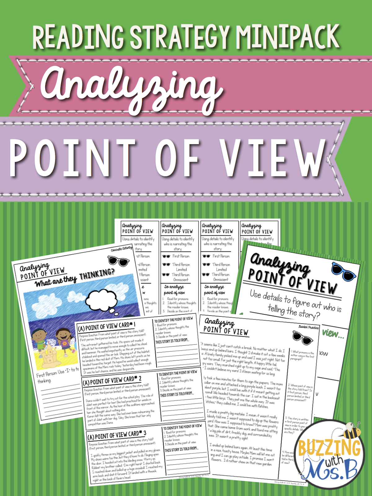 Buzzing With Ms B Point Of View Freebie