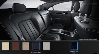 Nội thất Mercedes CLS 500 4MATIC 2016 màu Đen 211