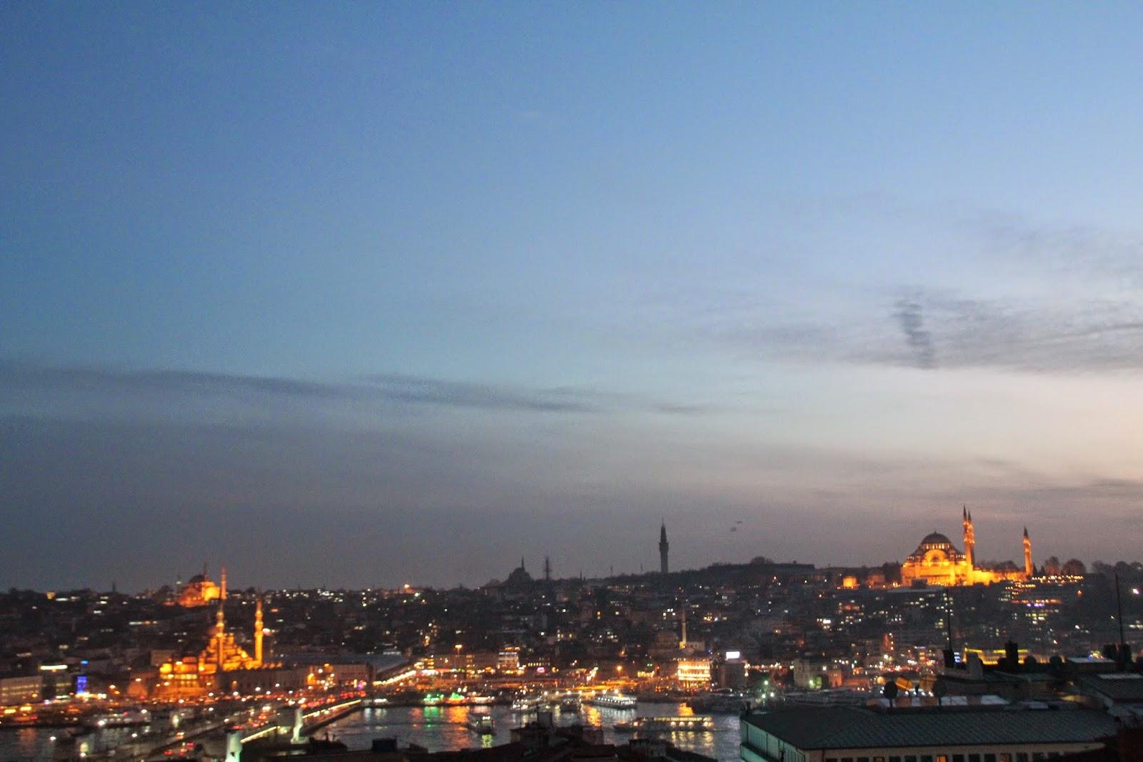 Terraza con Vistas en Estambul