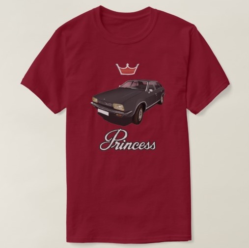 Austin Princess t-shirt british leyland