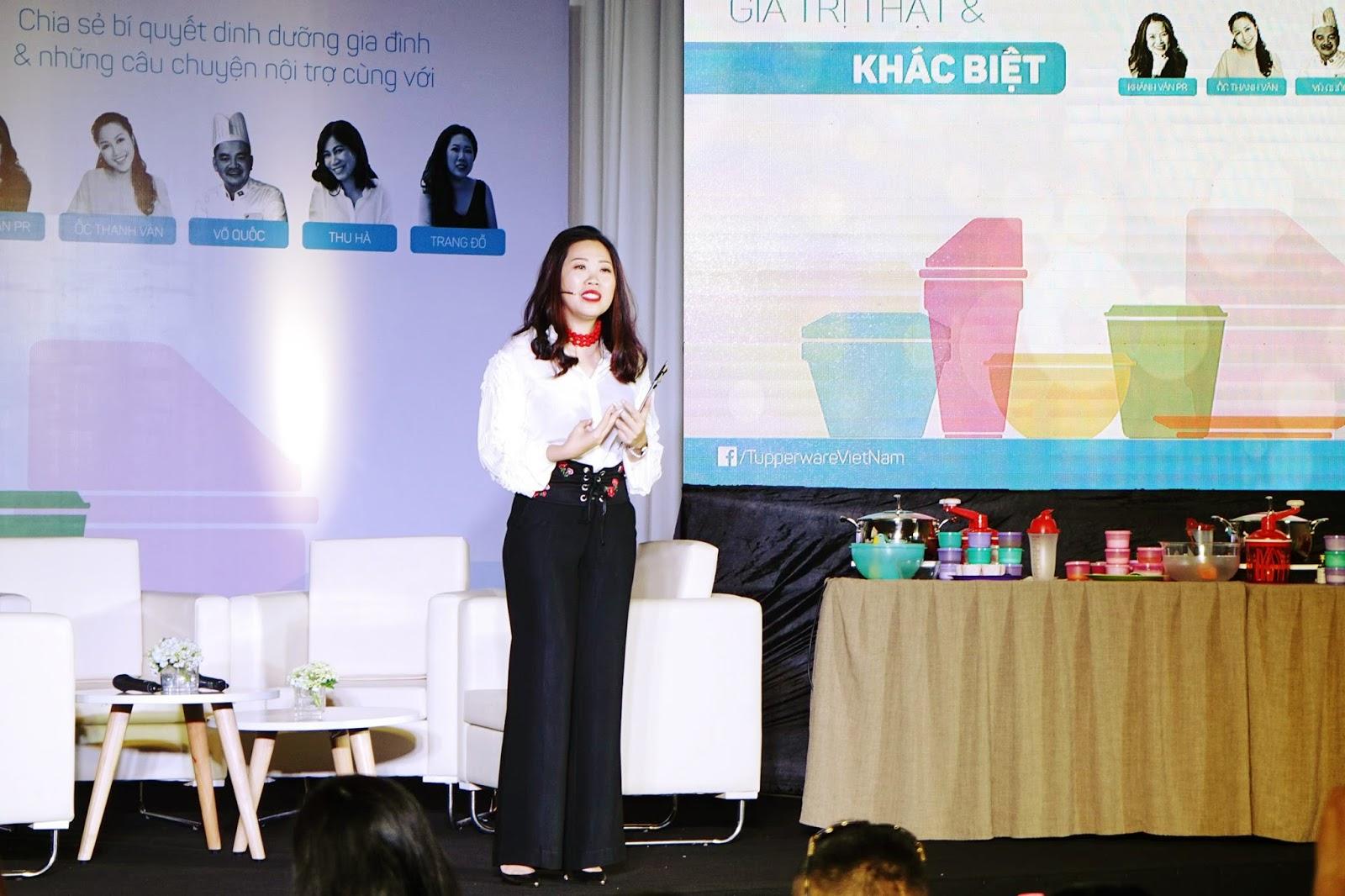 """Talkshow """"Tupperware – Giá trị Thật và Khác biệt"""" - Chia sẻ bí quyết dinh  dưỡng gia đình cùng phụ nữ Việt - Báo Tiếp Thị Gia Đình"""