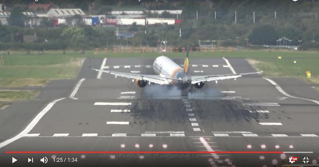 Penumpang Airbus A312 Teriak Histeris, Pesawat ini Diterpa Angin Kencang Hingga Dipaksa Mendarat Dua Kali