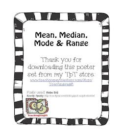 Teachingisagift: Mean, Median, Mode and Madison