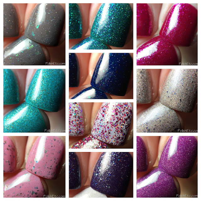 Ellagee - Three Years of Sparkle Collection - McPolish