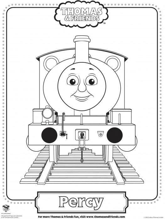 Thomas Coloring Pages Henry