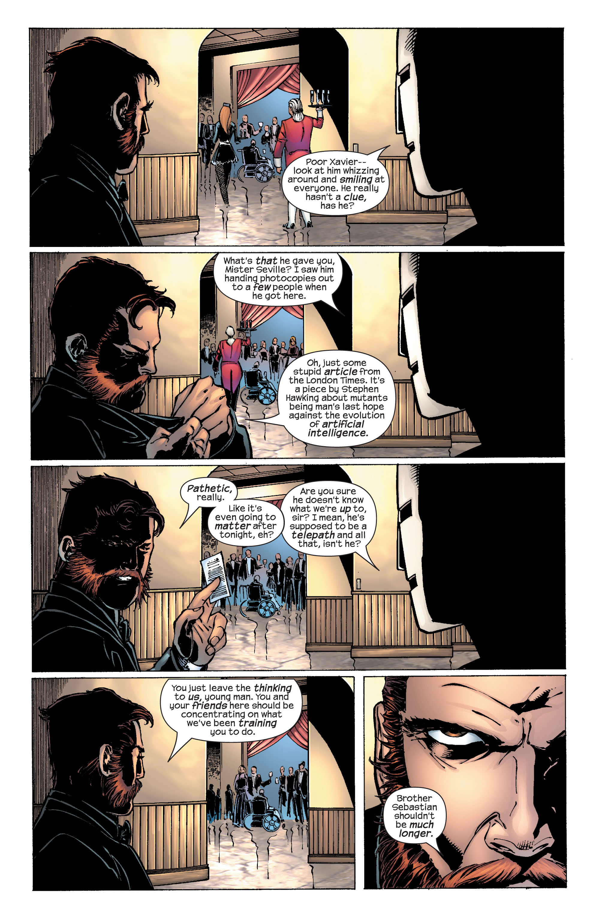Read online Ultimate X-Men comic -  Issue #25 - 10