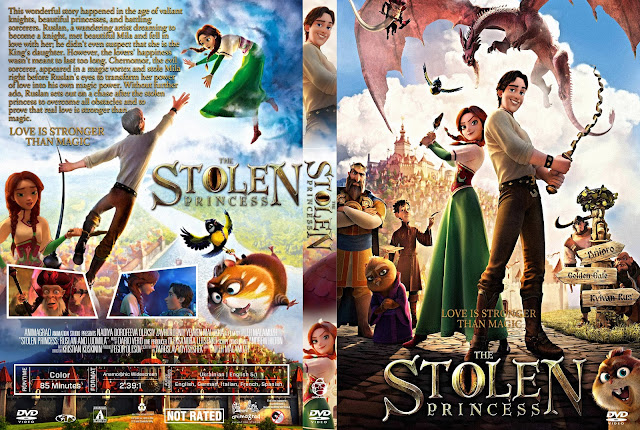 Stolen princess: Ruslan and Ludmila DVD Cover