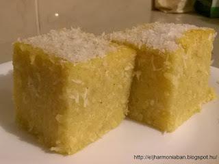 gluténmentes, gluténmentes sütemény, kukoricadara sütemény, kukoricadara, kókuszos,