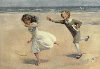 David Copperfield Dávid és Emma a tengerparton