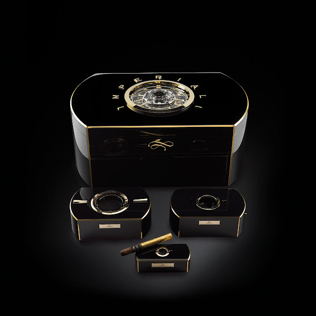 Imperiali Genève Emperador Mechanical Cigar Cabinet