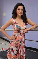 Actress Richa Panai Pos in Sleeveless Floral Long Dress at Rakshaka Batudu Movie Pre Release Function  0088.JPG