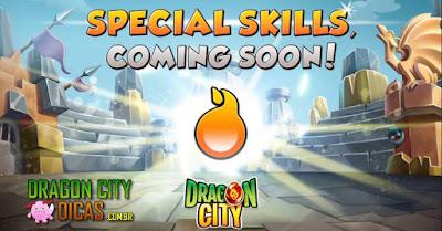 Novas Habilidades serão liberadas!