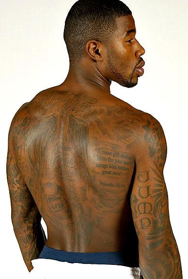 Back Tattoos Men