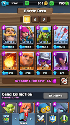 Clash Royale Arena 2 Undefeatable Deck