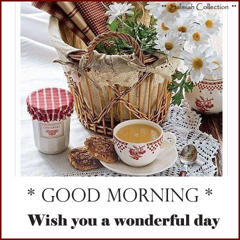 Wish you a wonderful day
