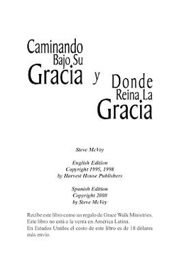 Steve McVey-Caminando Bajo Su Gracia y Donde Reina La Gracia-