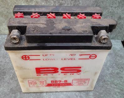 Cagiva mito 125 motorcycle battery maintenance