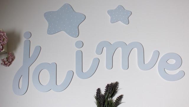 letras y nombres para decoración infantil personalizada
