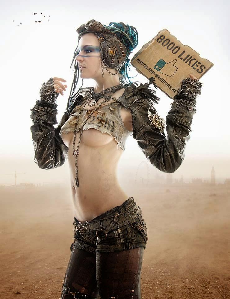 Mercenary Garage Wasteland Warrior