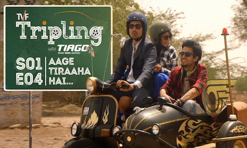 TVF Tripling S01E04 Aage Tiraaha Hai