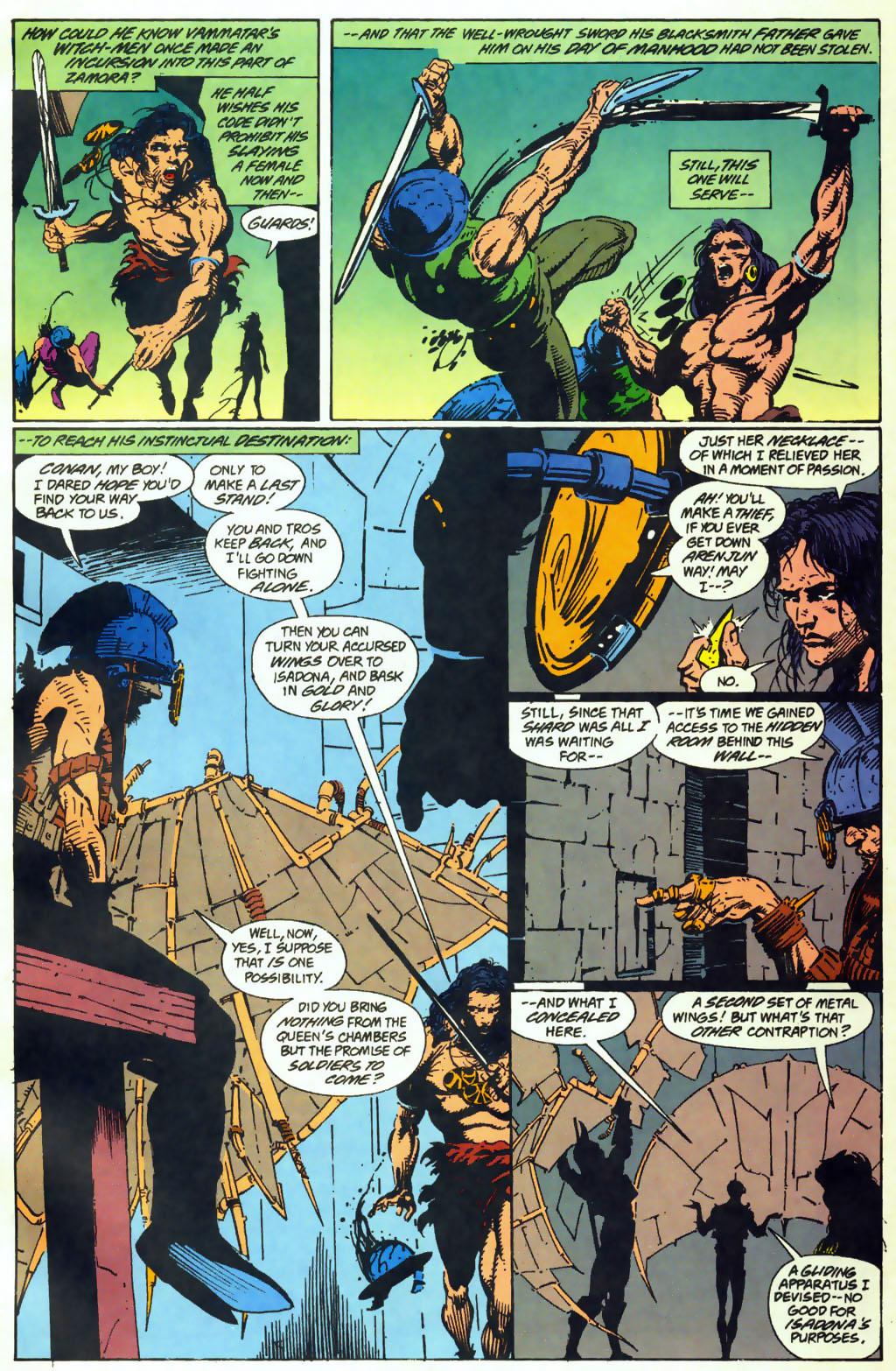Read online Conan the Adventurer comic -  Issue #10 - 10