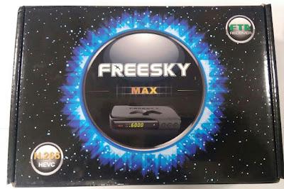 FREESKY MAX H265 NOVA ATUALIZAÇÃO V1.11 FREESKY%2BMAX%2BH265