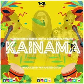 Harmonize feat Burna Boy & Diamond Platnumz - Kainama