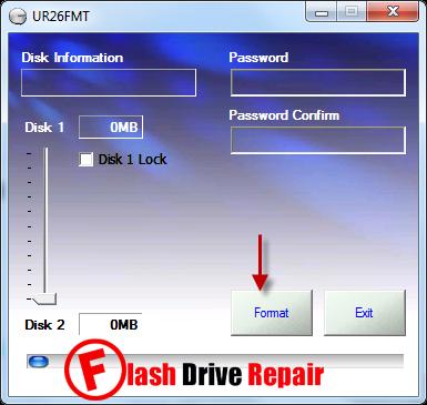 Ramos UR26 Formatter utility