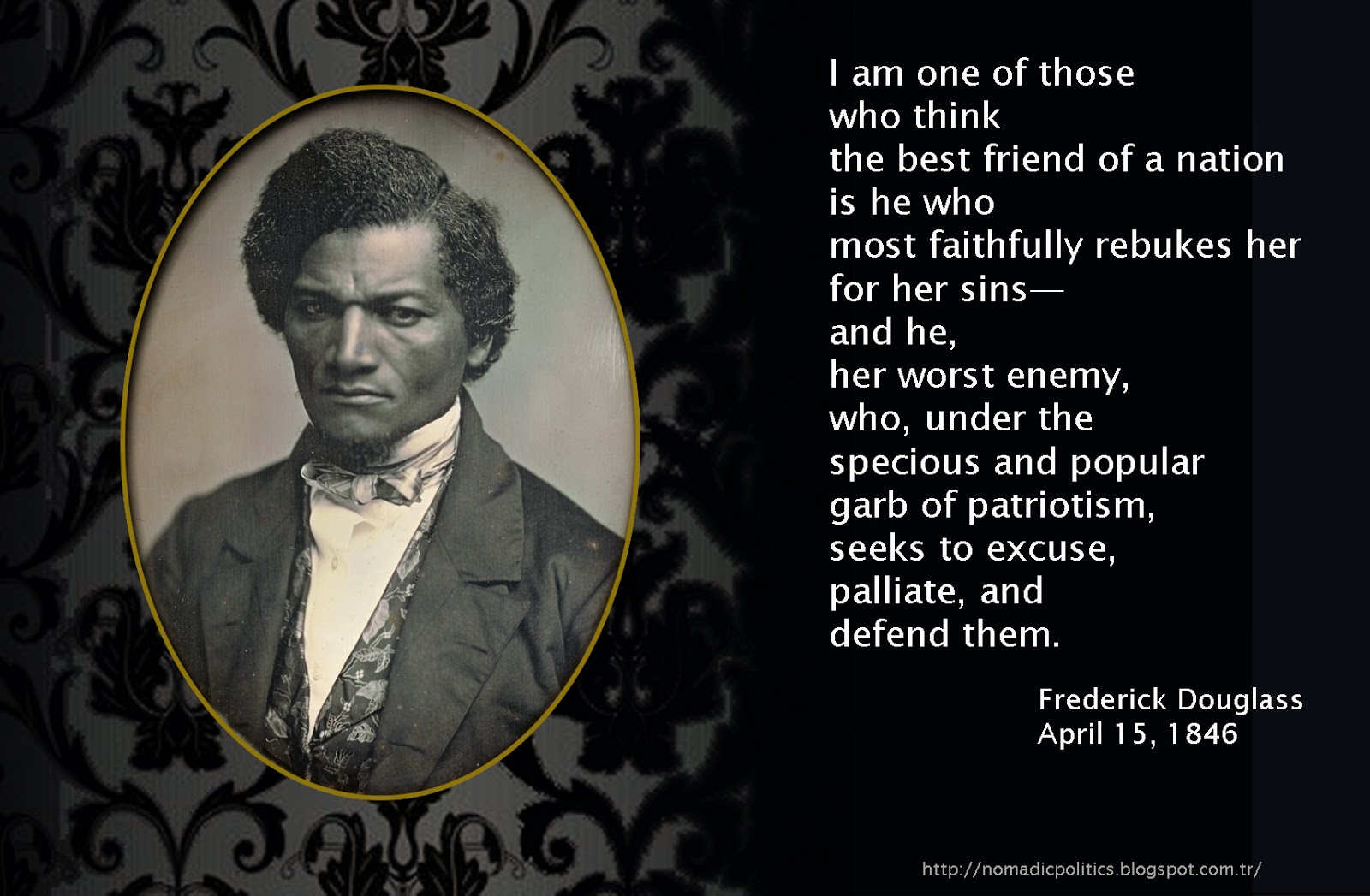 The evils of slavery as viewed by frederick douglass