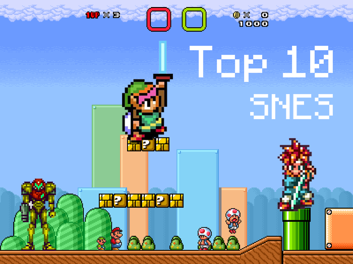 Shinkan Crossing: Top 10 SNES Games of All Time