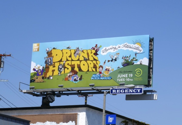 Drunk History 2018 Emmy FYC billboard
