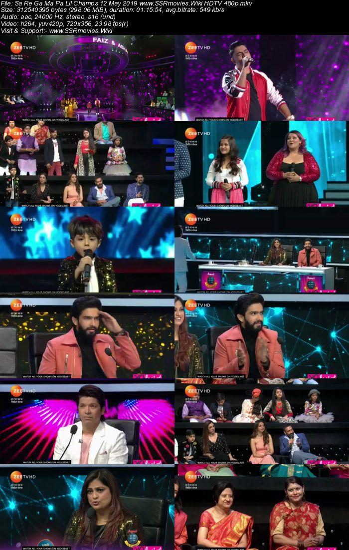 Sa Re Ga Ma Pa Lil Champs 12 May 2019 Full Show Download